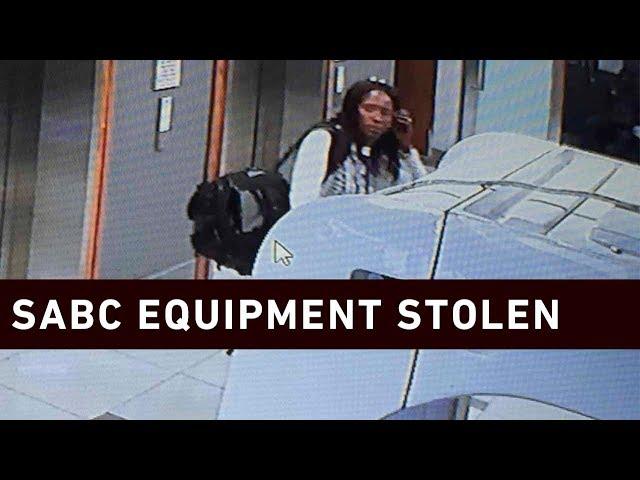 SABC equipment stolen at Zondo Commission