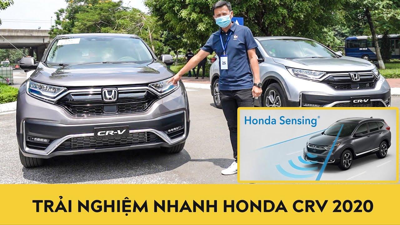 Trải nghiệm nhanh Honda CR-V 2020 xem công nghệ Honda Sensing có như giác quan thứ 6?