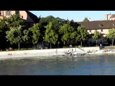 Schwimmen im Rhein - Basel