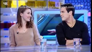 Интервью Mario Casas y Maria Valverde (русские субтитры)