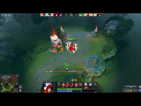 DOTA 2 TOUHOU DEFENCE OF THE SHRINE player Heng(sea sever)