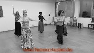 Wir sind am Proben -  Flamenco Schule Suzann Bustani -  @Theat_Heilbronn 