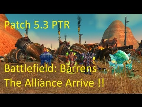 how to get to northern barrens alliance