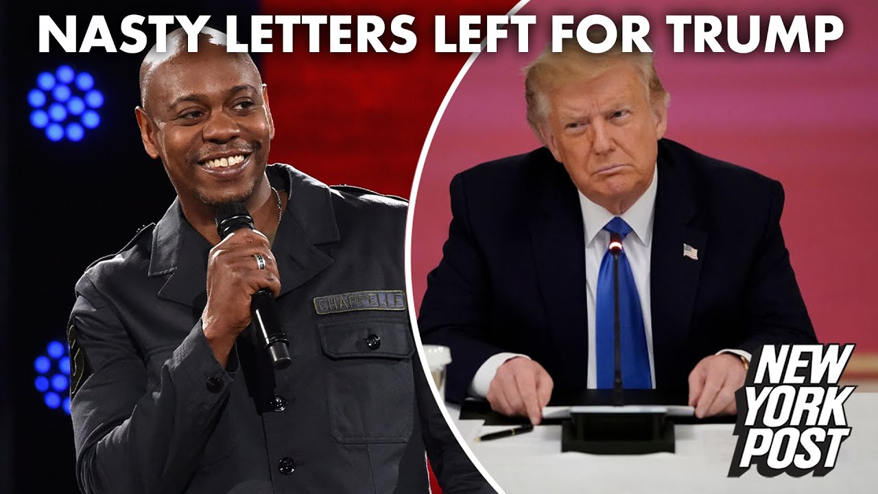 Dave Chappelle Says Celebrities Responsible for Nasty Notes Left for Trump