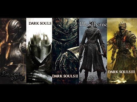 Dark Souls 3 - Bosses Evolution (Demon's Souls, Dark Souls, Bloodborne)