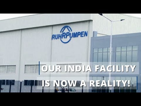 Ruhrpumpen inaugurates manufacturing facility in India