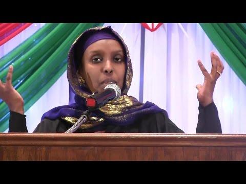 Farhiya Farah- Gives powerful speech on Poor Health Care Services in Northern Kenya-#itBreaksMyHeart