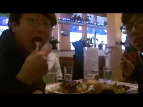 Eating Greek Food Video in Vancouver (12.27.2015)