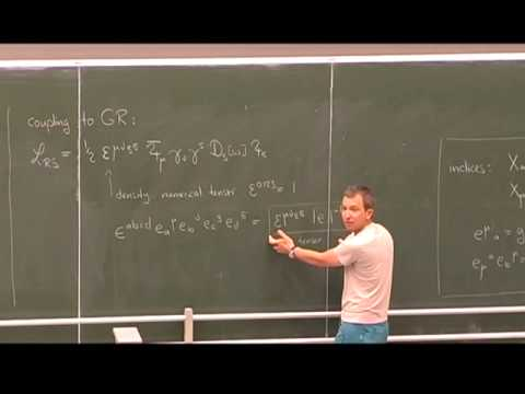 Henning Samtleben - Supergravity and Exceptional Field Theory, part 1