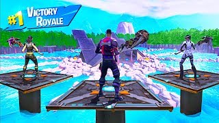I Tried To SURVIVE THE HUNGER GAMES in Fortnite Battle Royale