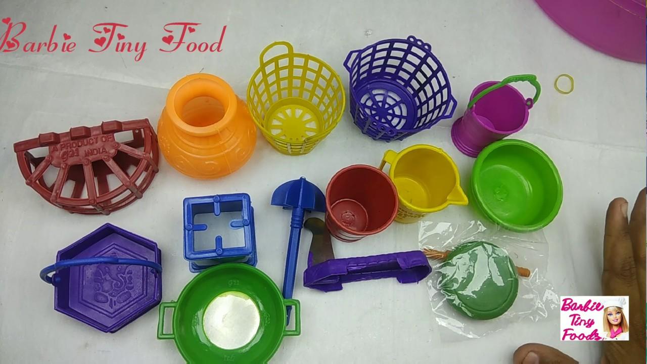 Kids Toy Tiny Kitchenset Mini Kitchen Set Plastic 14 Pieces Buy Online Miniaturetoys Youtube