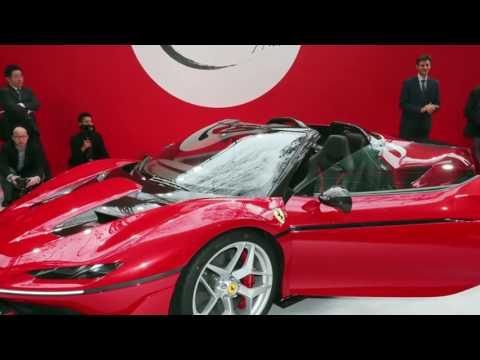 New 2017 Ferrari J50 !! Supercar Tokyo Released!! Top Gear Max