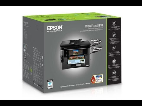 how to set up epson wf2630