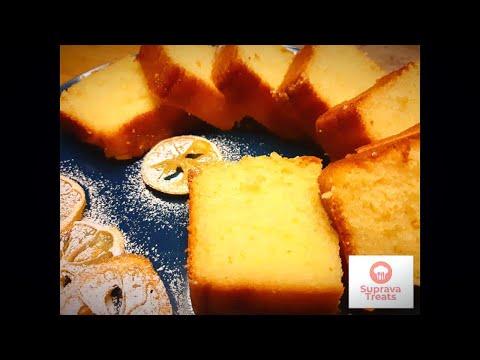 Lemon Tea Cake by SupravaTreats - Moist, Soft and Yummy Dessert Choice