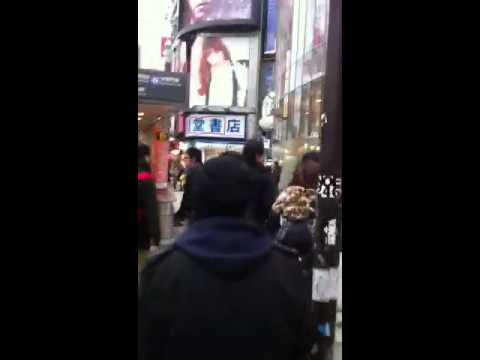 Bob Dee with Petro Walking in Tokyo