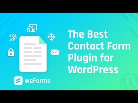 weForms - The Best Contact Form Plugin for WordPress