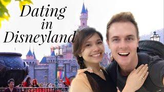 Filipina Australian couple go on a date to Disneyland