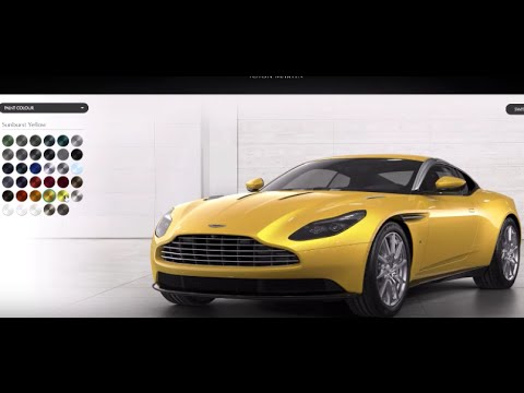 Aston Martin Db11 Comes In 35 Colors See Them All Here Youtube