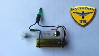 Как сделать простейшую сигнализацию из ШПРИЦА? / how to make the alarm from the syringe