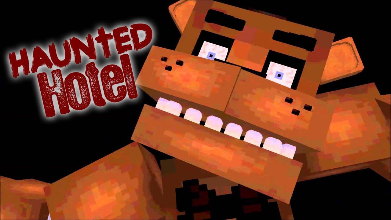 """Haunted Hotel """"freddy' Gang """" Minecraft Roleplay"""