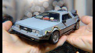 DeLorean из ПЛАСТИЛИНА Сделал своими руками! Назад в будущее