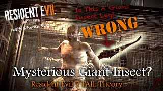 RESIDENT EVIL 7 | The Weapon That Looked Like An Insect | RE7 Enemy Failed Theories