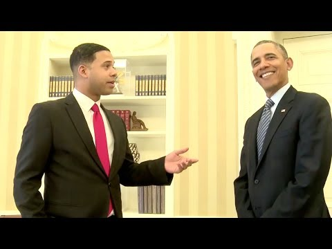 Obama Meets with Alphacat, Nice Peter, and other YouTubers at White House