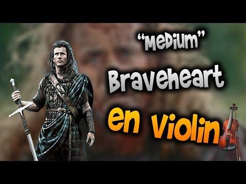 Braveheart en Violín|How to Play,Tutorial,Tab,sheet music,Como Tocar|Manukesman thumbnail