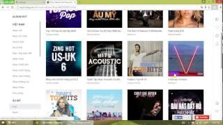 Hướng dẫn tải cả Album nhạc từ mp3.zing.vn
