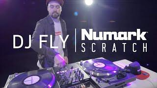 la table NUMARK SCRATCH avec DJ FLY (vidéo de La Boite Noire)