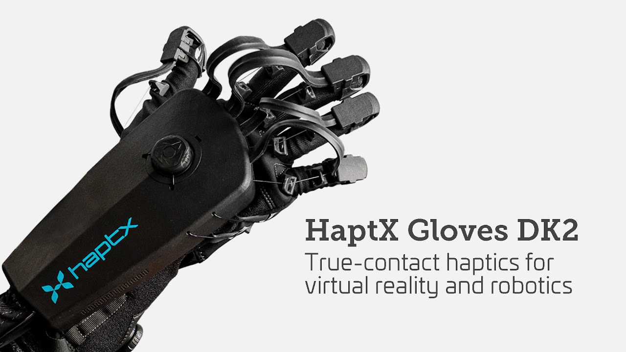 HaptX Gloves DK2 Launch Video | True-contact haptics for Virtual Reality and Robotics