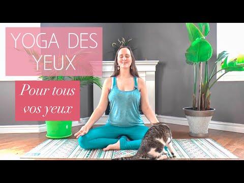 Yoga des yeux pour garder une bonne vue