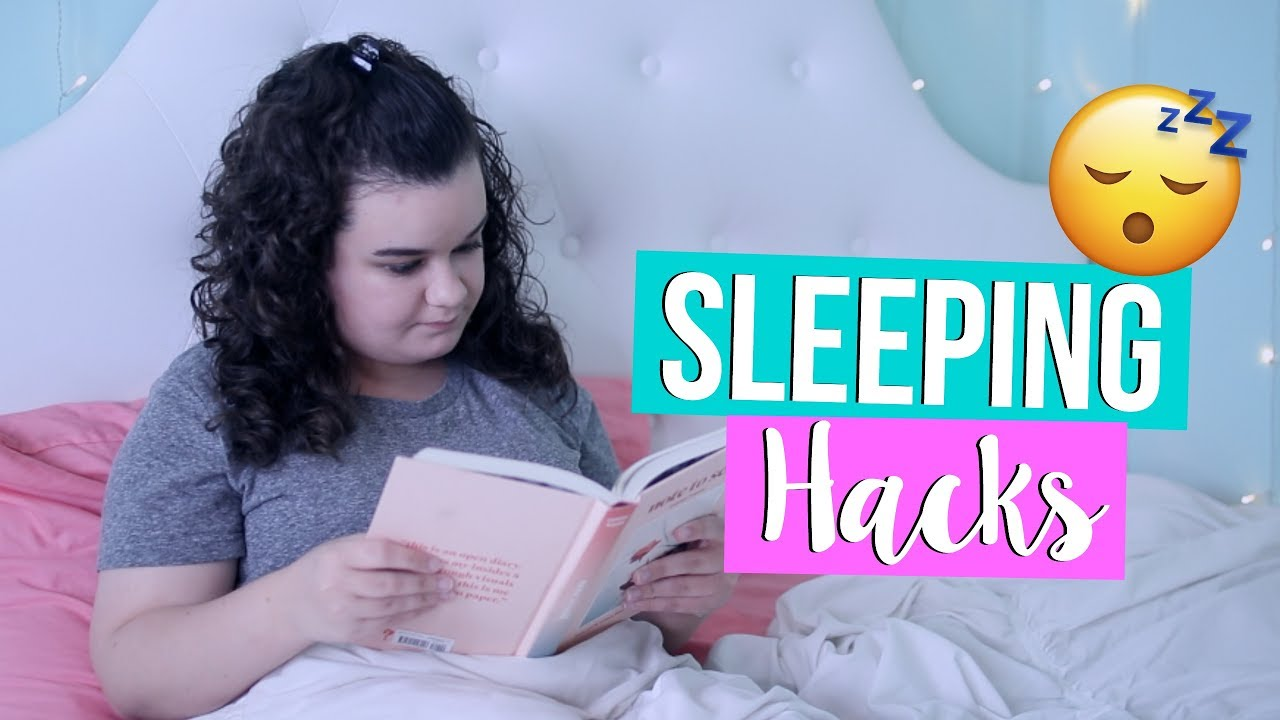 How To Fall Asleep Fast! Life Hacks For When You Cant Sleep!