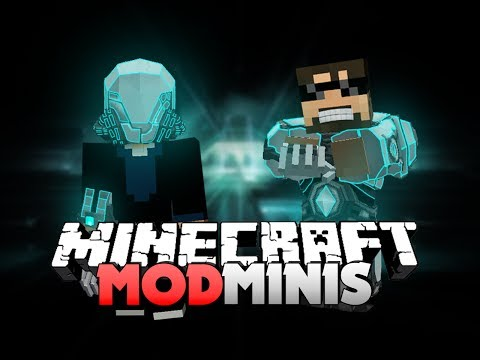 Minecraft Mod Mini - POWER SUITS