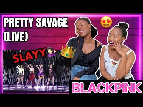 BLACKPINK - 'Pretty Savage' SBS Inkigayo REACTION
