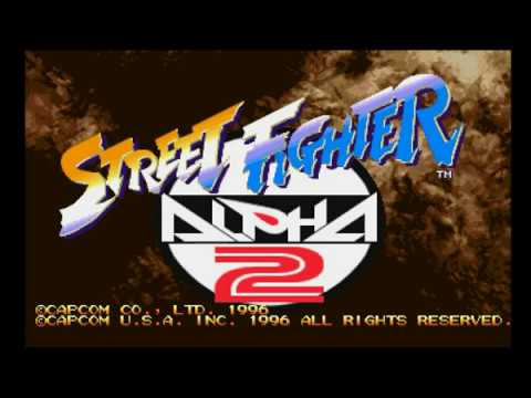 Street Fighter Alpha 2 (PSX) - Longplay