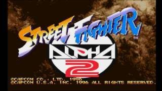 Street Fighter Alpha 2 (PSX) - Longplay
