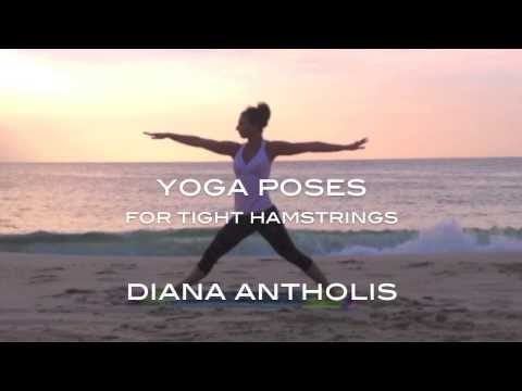 Morning Yoga Poses for Beginners - Great for Tight Hamstrings - Sunrise Beach Yoga