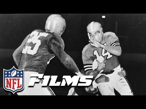 #7 Otto Graham | NFL Films | Top 10 Clutch Quarterbacks of All Time
