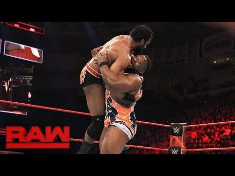 The New Day vs. Rusev & Jinder Mahal: Raw, Feb. 27, 2017