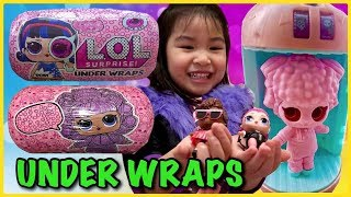 LOL Surprise UNDER WRAPS Unboxing | SPOOKY Club | SERIES 4 Big Sisters Lil Sisters Pets Glam Glitter