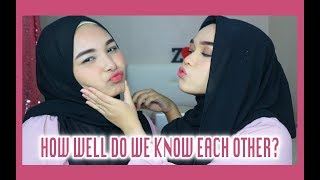 Video HOW WELL DO WE KNOW EACH OTHER TAG download MP3, 3GP, MP4, WEBM, AVI, FLV Desember 2017