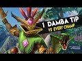 1 MAL'DAMBA TIP VS EVERY CHAMPION