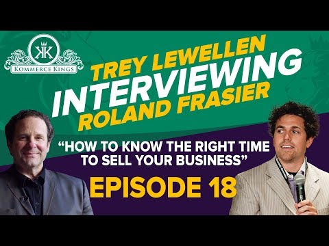 HOW TO KNOW THE RIGHT TIME TO SELL YOUR BUSINESS... Ep. 19