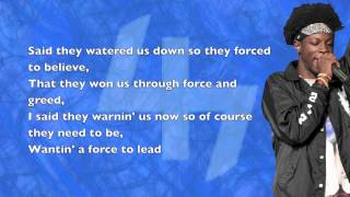 Pro Era - Like Water (Joey Bada$$, Capital STEEZ & CJ Fly) - Lyrics