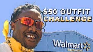$50 WALMART OUTFIT CHALLENGE | Men's Affordable Fashion & Streetwear