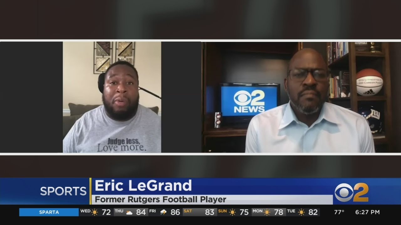 Former Rutgers Football Player Eric LeGrand Reacts To ...