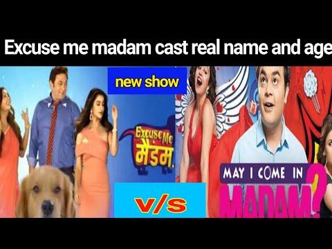 Excuse me madam serial ki cast real name and  star bharat new tv  serial Excuse me madam Excuse me