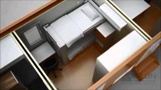 OPALON Prefabrik Kızaklı Konteyner Rig Drilling Mobilizasyon  RIGON - Animations
