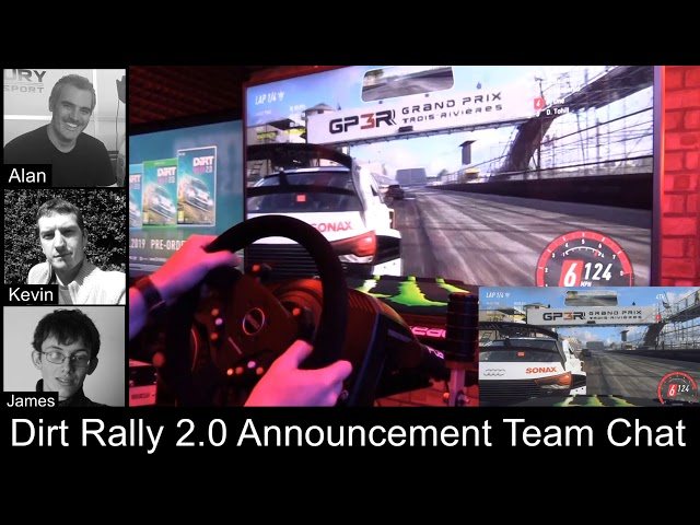 Dirt Rally 2 0 Announcement Team Chat